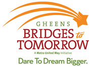 Gheens Bridges to Tomorrow logo